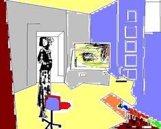 richard hamilton artist | Richard Hamilton | Rehanahmed16's Blog Richard Hamilton Artist, Artist Work, Collage Artists, Love Art, Cactus, British, Pop, Space, Printing