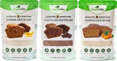 paleo muffin mixes from simplemills.com