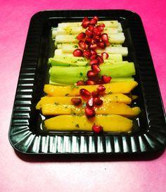 Yummy! Ensalada de Jicama, Mango y Pepino (Jicama, Mango and Cucumber Salad)