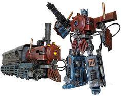 Optimus Prime Steampunk