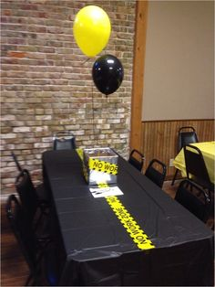 Farewell and Retirement Party Decoration Ideas. Farewell and Retirement Party Decoration. Farewell parties are usually held for various occasions. In addition, a farewell party can be a great way to. Principal Retirement, Police Retirement Party, Teacher Retirement Parties, Police Party, Retirement Celebration, Retirement Gifts, Retirement Ideas, Retirement Party Centerpieces, Retirement Decorations