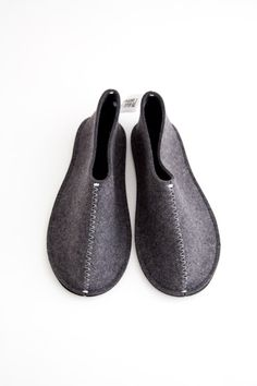 pia wallen felt slippers
