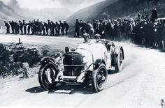 1930 - Klausen Hillclimb Rudolf Caracciola and the SSK taking victory in the sports car contest during the Klausen Race in 1930.