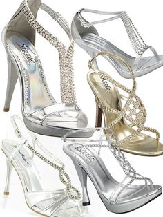 sparkly prom/wedding shoes...absolutely!
