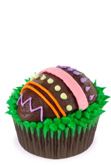 Easter Egg Cupcakes from Reynolds ~ looks fairly easy and yummy ~ Reynolds no longer has recipe Hoppy Easter, Easter Eggs, Easter Food, Easter Bunny, Cupcake Recipes, Cupcake Cakes, Easter Buffet, Cupcake In A Cup, Big Cakes