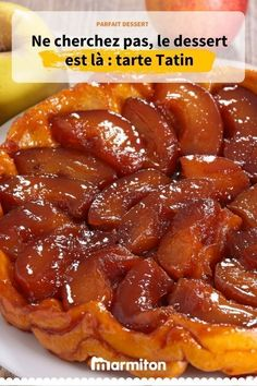 Quick and easy tarte tatin - Desserts - Meat Recipes Easy Cake Recipes, Easy Healthy Recipes, Easy Desserts, Meat Recipes, Snack Recipes, Dessert Recipes, Parfait Desserts, Easy Snacks, Healthy Snacks