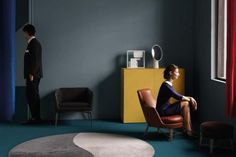 Styling Elisa Ossino — photos by Giovanni Gastel