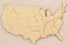 United States Map with States