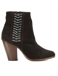 LILIAN SUEDE ANKLE BOOTS- cute!!