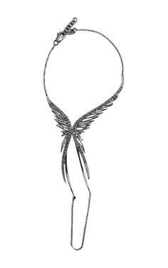 Black Rhodium Bracelet With Black Diamonds by CristinaOrtiz for Preorder on Moda Operandi