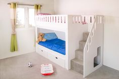 OUR BEDS ARE BUILT TO BRITISH AND EU BUNK BED REGULATIONS: BS EN 747 Please Note:Delivery will be charged on first 50% payment. Seethis linkfor our current lead time. We will contact you within 2 workingdays of purchase with a provisional delivery date and installation options (pleaseclick herefor delivery charges). Add to the excitement of …