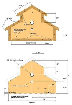 Image result for Birdhouse Plans Free to Print