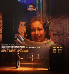 If you haven't went back and watched this after knowing all you know now. Do it. It'll break your heart. River song 10