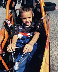 6-year-old Jacob Hodges has earned his Jr. Drag Racing license