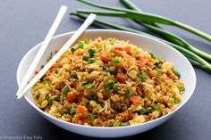 Easy Chinese Fried Rice Recipe | EverydayEasyEats.com