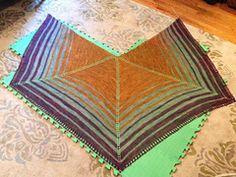 Ravelry: Sheep Wagon Shawl pattern by Joanna Johnson
