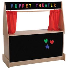 Puppet Theatre with Flannel Board