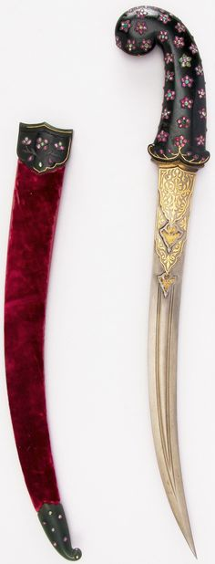 Indian jambiya dagger.