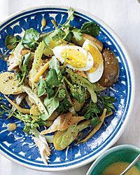 Smoked Fish Salad with Pickled Beans and Eggs  - Main-Course Salads on Food & Wine