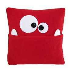 ♥ Monsterkissen ♥ Would make good tooth fairy pillow Tooth Pillow, Tooth Fairy Pillow, Sewing Toys, Sewing Crafts, Sewing Projects, Diy Projects, Cute Pillows, Baby Pillows, Tooth Fairy Certificate