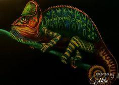 Chameleon by Mila Guiterrez