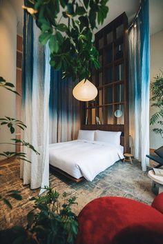 claesson koivisto rune transforms bank building into tokyo hotel Villa Boheme, Tokyo Ville, Brooklyn Brewery, Brooklyn Coffee, Mix Use Building, Banks Building, Tokyo Design, Quality Hotel, Tokyo Hotels