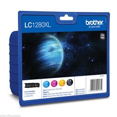 Original Brother Black/Magenta/Yellow/Cyan Value Pack Exp 2020