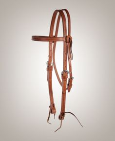 The Craig Cameron 3/4″ browband headstall is made from harness leather, making it a great all-around piece.