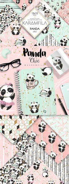 Wallpaper Panda, Wallpaper Wa, Panda Wallpapers, Wallpaper Iphone Cute, Cute Wallpapers, Wallpaper Backgrounds, Wallpaper Keren, Diy Panda, Panda Love