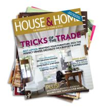 House Home Magazine - current issue