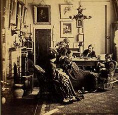 """""""The General Assembly of This must be in reference to the meeting of the Presbyterian Church in 1861 where Northern church deleg. Victorian Rooms, Victorian House Interiors, Victorian Life, Victorian Furniture, Victorian Decor, Vintage Interiors, Victorian Houses, Old Pictures, Old Photos"""