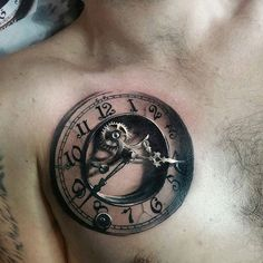 Clock Tattoos, Designs And Ideas
