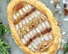 Mazurek ou gâteau de Pâques polonais aux fruits secs : http://www.fourchette-et-bikini.fr/recettes/recettes-minceur/mazurek-ou-gateau-de-paques-polonais-aux-fruits-secs.html