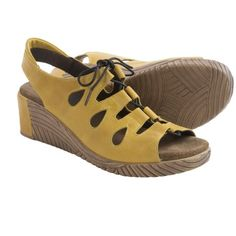 Wolky Fogo Wedge Sandals - Leather (For Women))