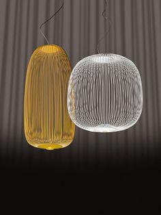 Suspension Spokes 2 / LED - Ø 52 x H 52,5 cm Blanc - Foscarini