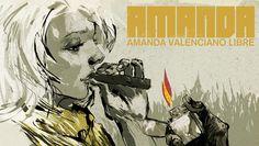 Metal Gear Solid Peace Walker Amanda Wallpaper