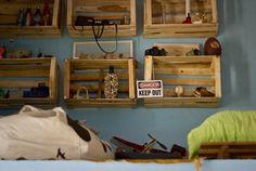 # Grey Walls, Ideas Para, Shelves, Home Decor, Decor Ideas, Diy, Fire, Drawer Shelves, Country Houses