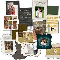 Photoshop Templates for Photographers:  Engagement photography templates by MK Classic Photography...can be purchased at http://focused.whcc.com/store/view-all.html?template_designer=133