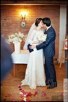 Mloda Para po ślubie