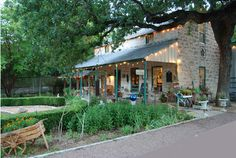 ...live in an old stone house like this one - Fredericksburg, TX Herb Farm
