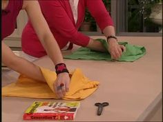 How to Fold a T-Shirt the Proper Way Videos | Home & Garden How to's and ideas | Martha Stewart