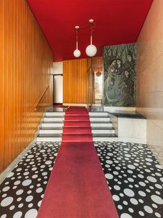 """archatlas:  """"  Entryways of Milan  First impressions count, especially in Milano. In this unprecedented photographic journey, editor Karl Kolbitz opens the door to 144 of the city's most sumptuous entrance halls, captivating in their diversity and..."""
