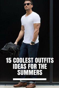 15 Coolest Outfit Ideas For The Summers.. #mens #fashion #style . . . . . der Blog für den Gentleman - www.thegentlemanclub.de/blog
