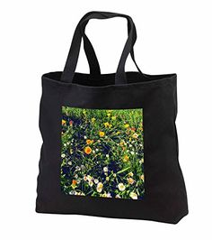 "DYLAN SEIBOLD - PHOTOGRAPHY - FLOWER FIELD - Tote Bags Be the first to review this item   Price:	$28.74 Sale:	$26.44 + $5.71 shipping You Save:	$2.30 (8%) Size:   In Stock. Get it as fast as Oct. 11 - 14. Ships from and sold by 3dRose LLC. 100% cotton twill Dual cotton web handles (19.5"") Custom image affixed to durable, heavy-duty cotton twill material Jumbo tote available in black only Standard tote available in black or denim"