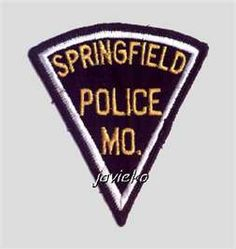 Springfield Police - old- (Missouri, USA) . Shoulder patch (NEW)