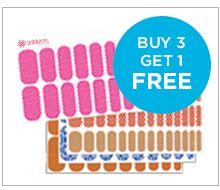 Buy 3 Get 1 #FREE