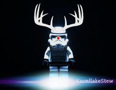 Star Wars Lego Christmas Stormtrooper Photography DIGITAL DOWNLOAD. Wall Art. Lego. Christmas Card.