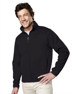 Men's Polyknit Fleece Full Zip Jacket. Tri mountain 7350 #fleece #polyknit #Fullzip #Jacket #Menswear #Trimountain