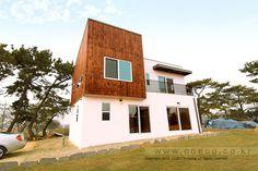 코에코하우징 - 아산 모던하우스 완공! 소나무와 모던하우스-25평 소형주택