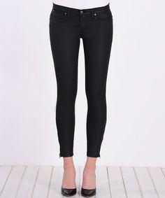 Jet Ankle-Zip Lila Skinny Jeans